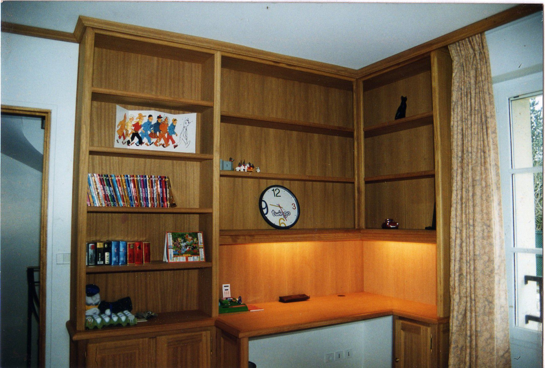 Am nagement int rieur sarl beaun lamouret - Bureau bibliotheque integre ...