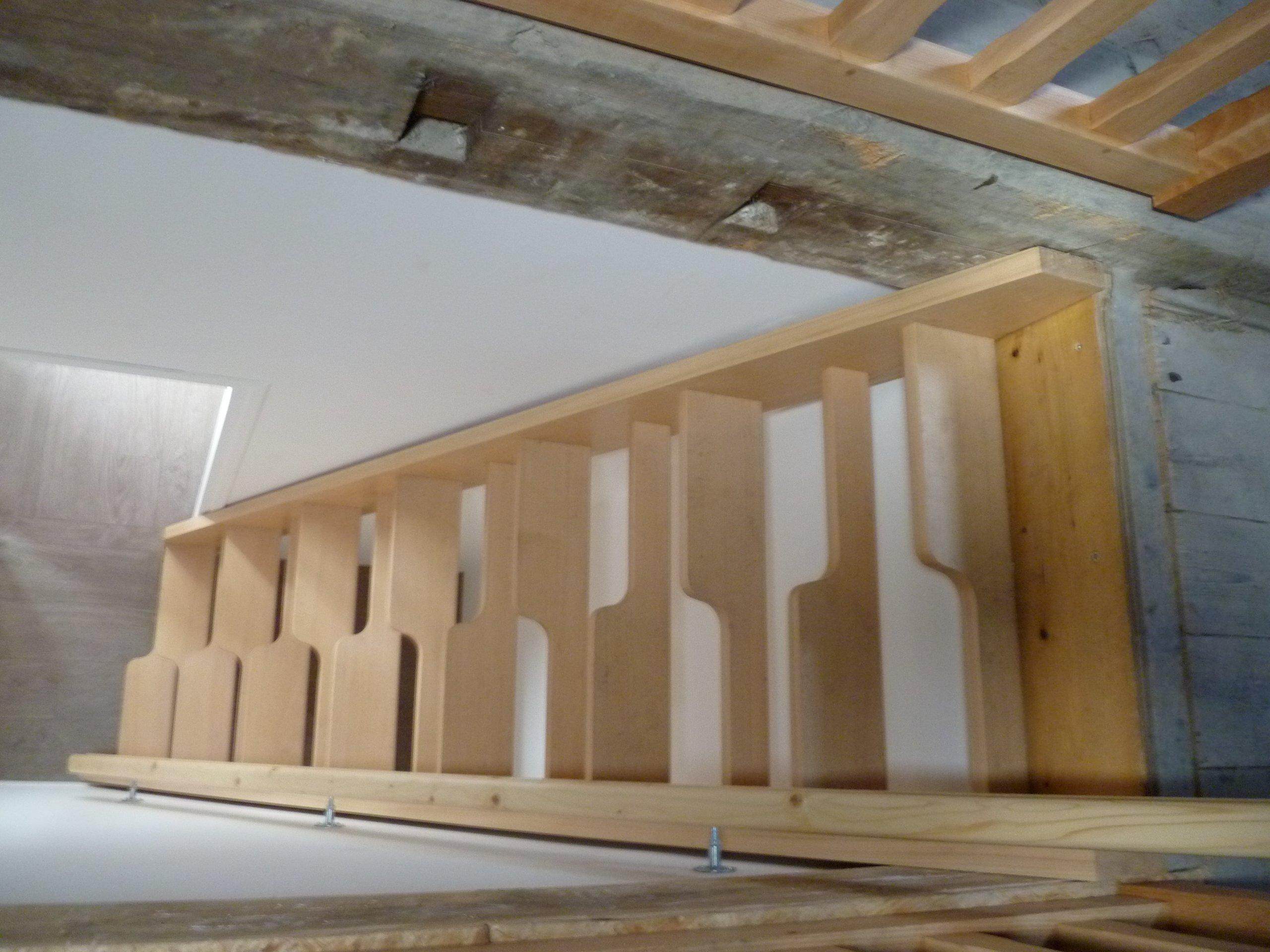 Escalier sarl beaun lamouret - Escalier a pas japonais ...