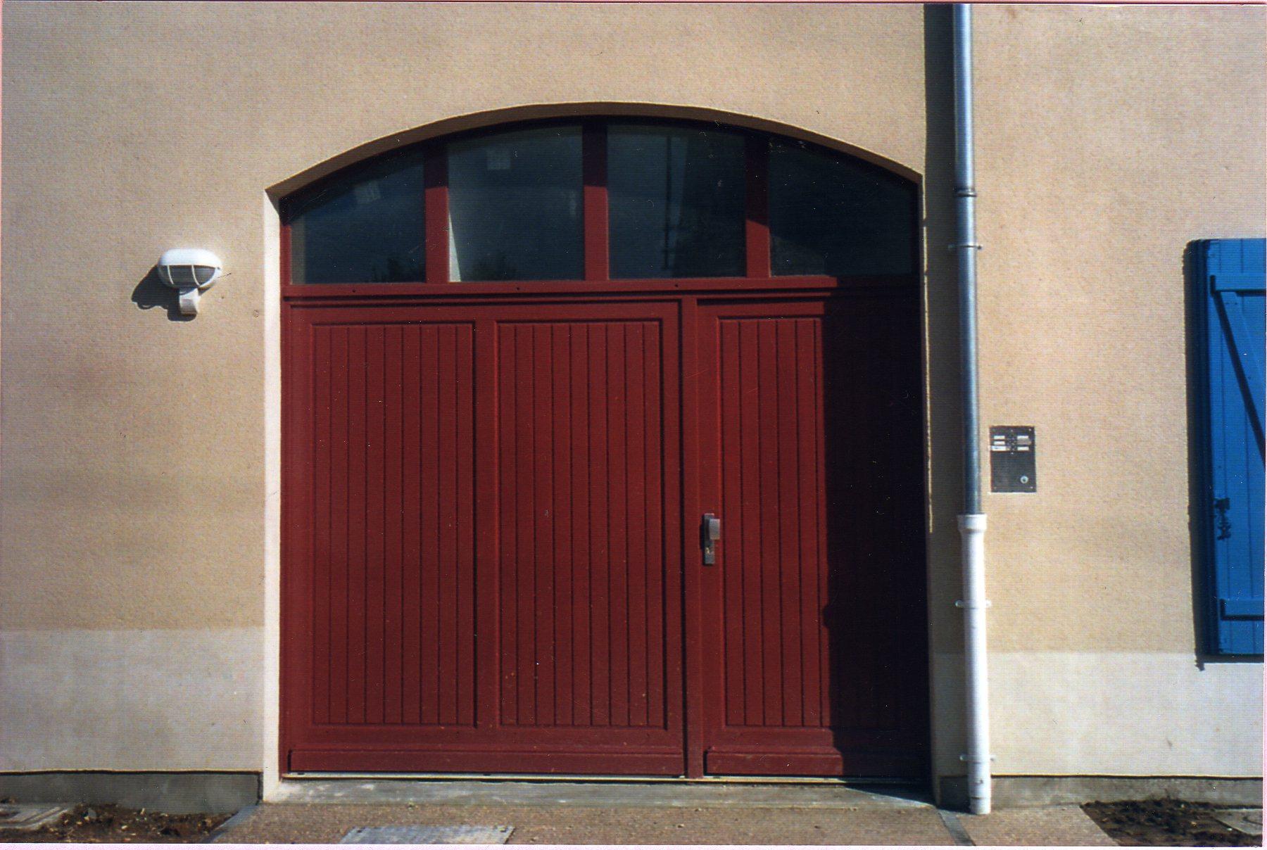 Menuiserie sarl beaun lamouret - Porte de garage 4m ...