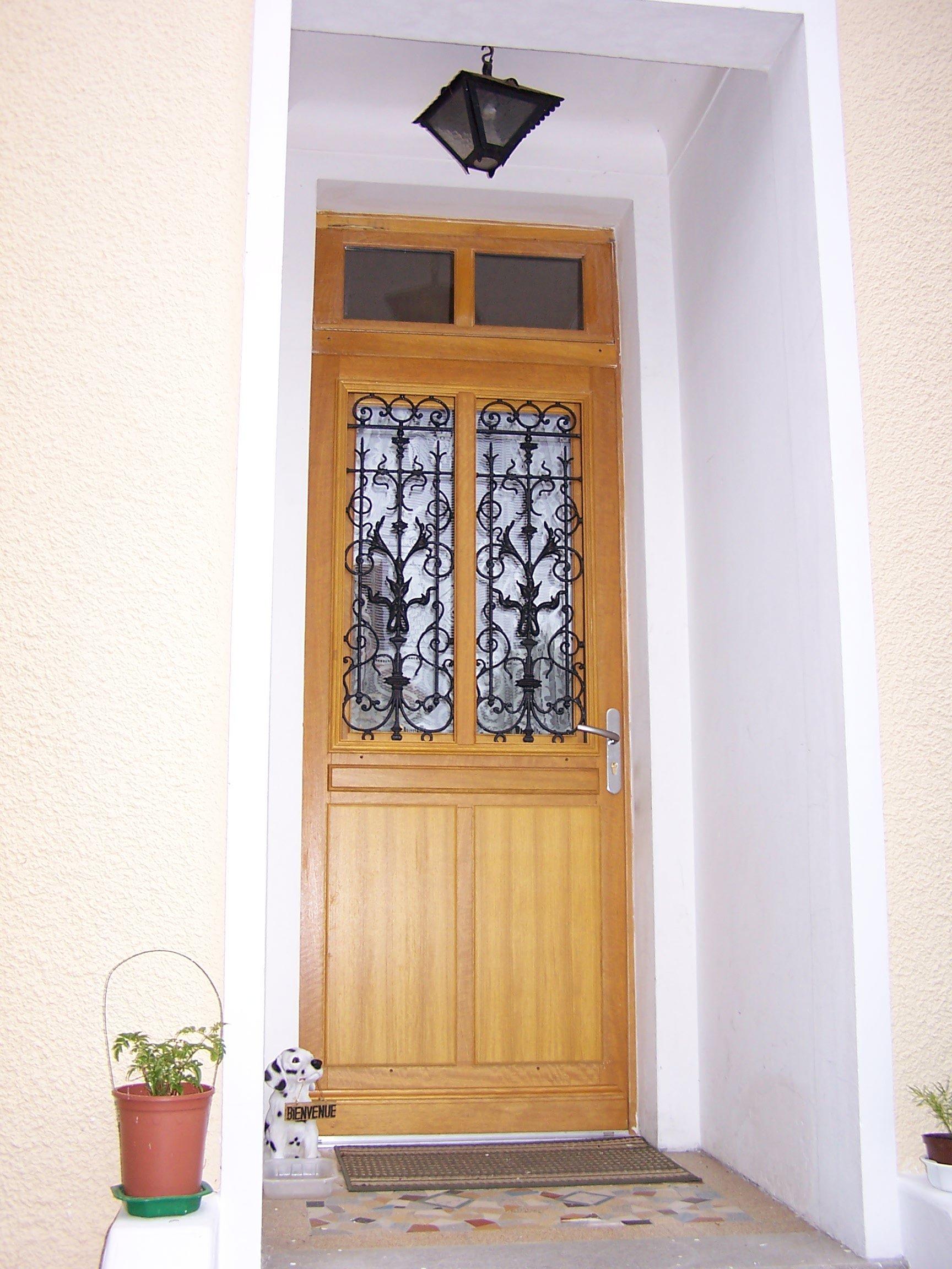 Imposte vitre cot droit er bureau porte vitre clarit for Porte ouvrant droit